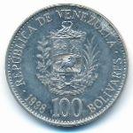 Венесуэла, 100 боливар (1998 г.)