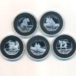 Гибралтар, Набор монет (2021 г.)