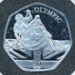 Гибралтар, 50 пенсов (2021 г.)