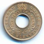 Британская Западная Африка, 1/10 пенни (1956 г.)