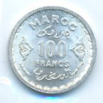 Марокко, 100 франков (1951 г.)