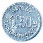 Коморские острова, 50 сентим (1915 г.)