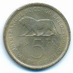 Бельгийское Конго, 5 франков (1936 г.)