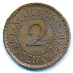 Маврикий, 2 цента (1946 г.)