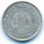Маврикий, 10 центов (1889 г.)