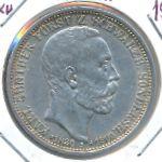 Шварцбург-Зондерхаузен, 3 марки (1909 г.)