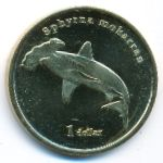 Муреа, 1 доллар (2020 г.)