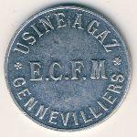 Жанвилье., 5 сентим