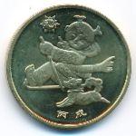 Китай, 1 юань (2006 г.)