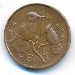 Виргинские острова, 1 цент (1973 г.)