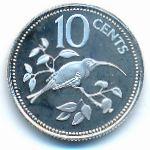 Белиз, 10 центов (1979–1980 г.)