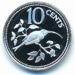 Белиз, 10 центов (1980 г.)