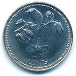Белиз, 25 центов (1981 г.)