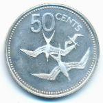 Белиз, 50 центов (1980 г.)