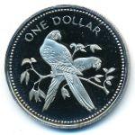 Белиз, 1 доллар (1979–1980 г.)