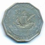 Белиз, 1 доллар (2000 г.)
