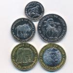 Конго, Набор монет (2020 г.)