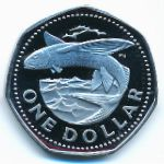 Барбадос, 1 доллар (1973 г.)