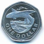 Барбадос, 1 доллар (1974 г.)
