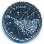 Гибралтар, 5 пенсов (2020 г.)