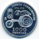 Испания, 1000 песет (2000 г.)