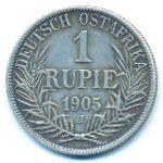 Немецкая Африка, 1 рупия (1905 г.)