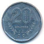 Коста-Рика, 20 колон (1985 г.)