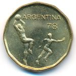 Аргентина, 20 песо (1978 г.)