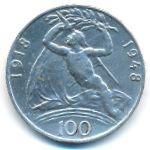 Чехословакия, 100 крон (1948 г.)