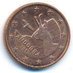Андорра, 5 евроцентов (2017 г.)