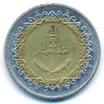 Ливия, 1/2 динара (2009 г.)