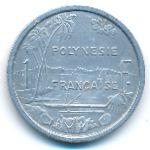 Французская Полинезия, 1 франк (1979 г.)