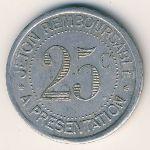 Эро., 25 сентим (1921 г.)