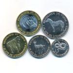 Чад, Набор монет (2020 г.)