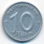 ГДР, 10 пфеннигов (1948 г.)