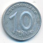 ГДР, 10 пфеннигов (1949 г.)