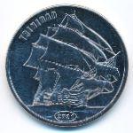 Остров Флорес, 1 доллар (2021 г.)