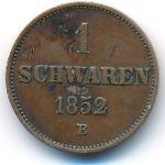 Ольденбург, 1 шварен (1852 г.)