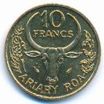 Мадагаскар, 10 франков (1984 г.)