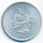 Бермудские острова, 1 крона (1959 г.)