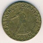 Эврё., 1 франк (1922 г.)
