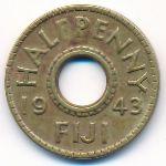 Фиджи, 1 пенни (1943 г.)
