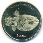 Муреа, 1 доллар (2021 г.)