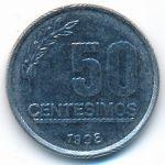 Уругвай, 50 сентесимо (1998 г.)