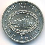 Остров Мэн, 1 фунт (1983 г.)