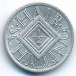 Австрия, 1/2 шиллинга (1925 г.)