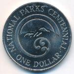 Новая Зеландия, 1 доллар (1987 г.)