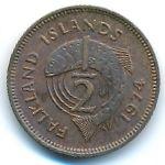 Фолклендские острова, 1/2 пенни (1974 г.)
