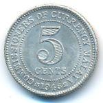 Малайя, 5 центов (1945 г.)