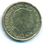 Люксембург, 20 евроцентов (2016 г.)